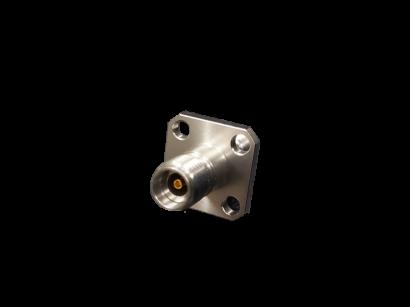 RF連接器2.92mm母頭轉PCB(四法蘭)